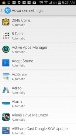Echo Notification Lockscreen - Advanced Settings