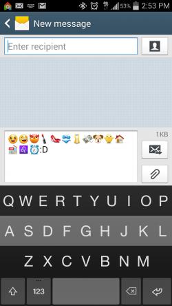 Fleksy Keyboard Emoji - Emojis