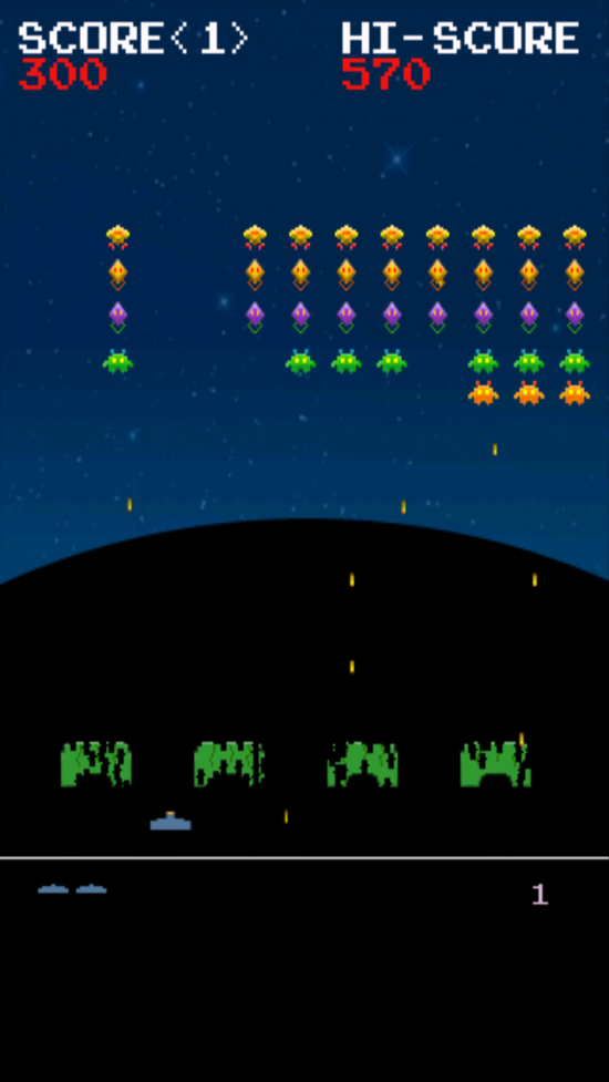 Invaders from Androidia – play classic 'Space Invaders' on Android