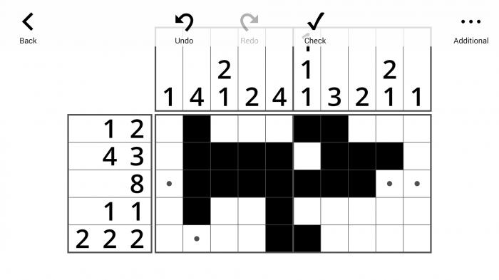 Lets IQ Nonogram - Gameplay 1
