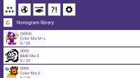 Lets IQ Nonogram - Library