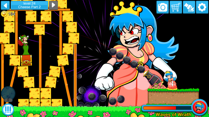 Princess Pow: Castle Smash – hilariously zany game of vengeance