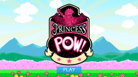 Princess Pow Castle Smash - Start Screen