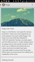 Rugo Icon Pack - Getting Started