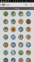 Rugo Icon Pack - Google Icons