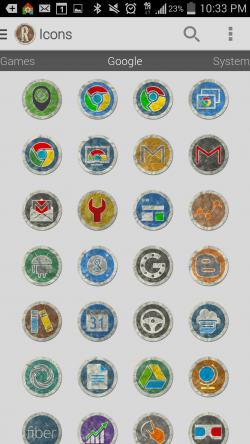 Rugo Icon Pack - Google Icons