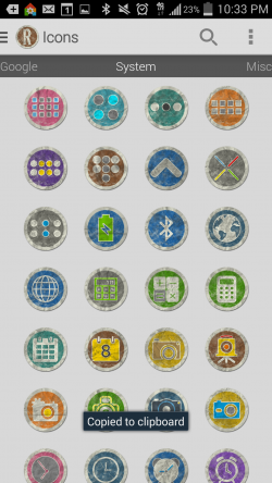Rugo Icon Pack - System Icons