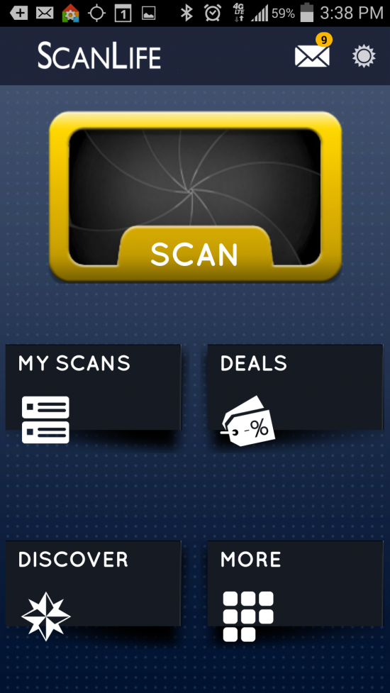 ScanLife Barcode & QR Reader – a shopping companion