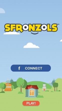 Sfronzols - Start Screen