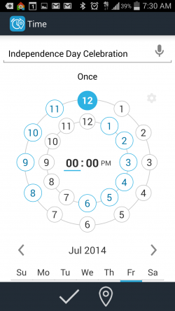 Time and Place Reminder plus Widget - Fancy Date Time Picker