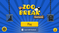 Zoo Break Countryside - Start Screen