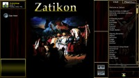 Armies of Zatikon TCG and Chess - Start Screen
