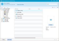 EaseUS Data Recovery Free - Scan Complete