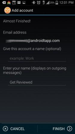 Fluent Mail - Add Account