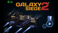 Galaxy Siege 2 - Start Screen