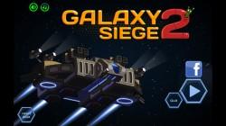 Galaxy Siege 2 - Start Screen