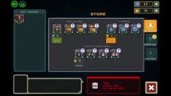 Galaxy Siege 2 - Store