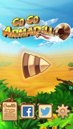 Go Go Armadillo - Start Screen