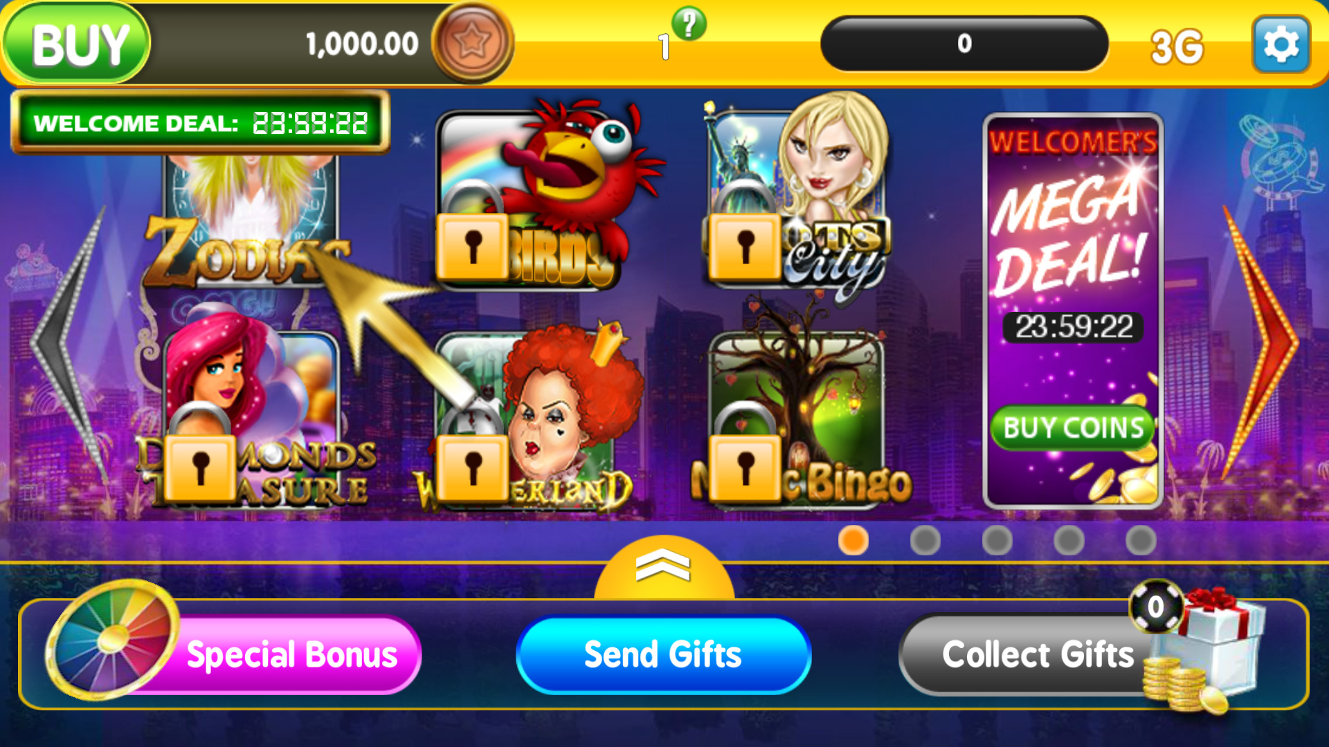 Real time casino games