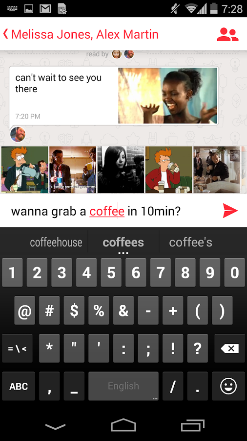 Pixit – trendy new way to chat with GIFs