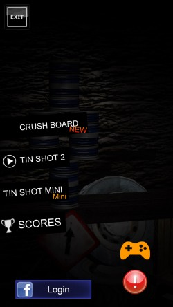 Tin Shot 2 - Start Screen
