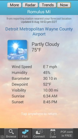 Weather4us - Now