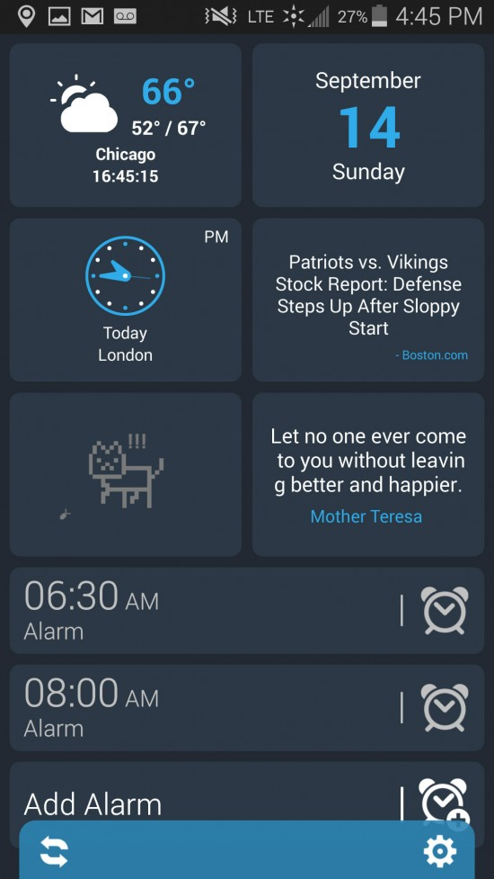 Morning Kit (Alarm & Panels) – an app to start your day