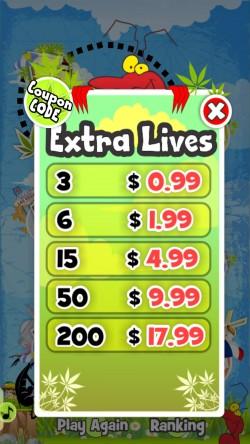 Run Criki - Purchase Extra Lives