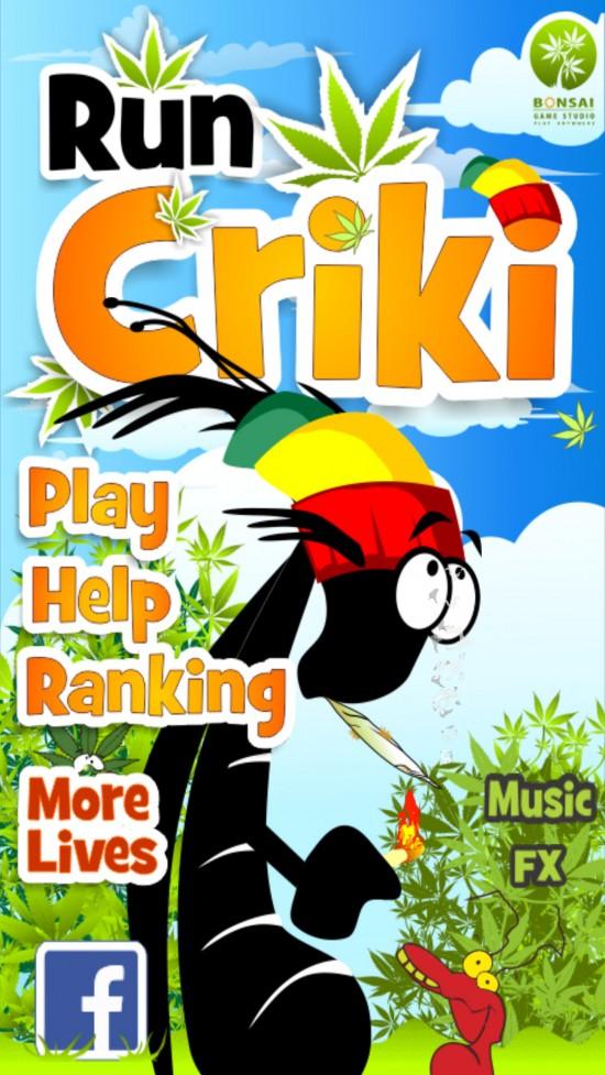 Run Criki – play a humorous run & jump game