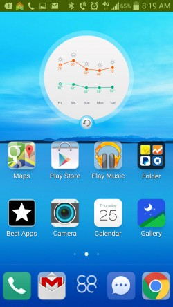 Turbo Launcher EX - Weather Widget