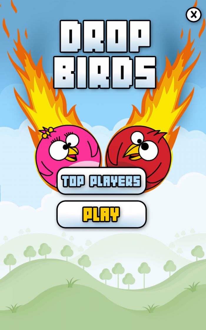 Drop Birds – play a casual tilt game