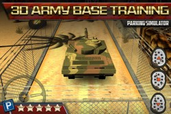 3D Parking Game Army Tanks 1