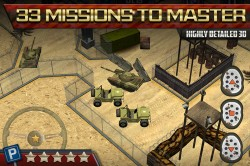 3D Parking Game Army Tanks 3