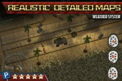 3D Parking Game Army Tanks 4