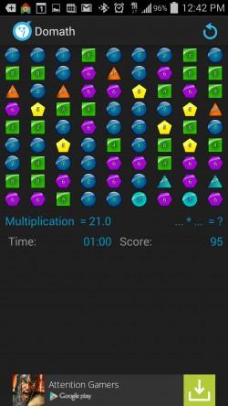 Domath - Multiplication