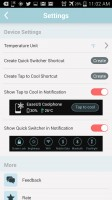 EaseUS Coolphone Cool Battery - Settings