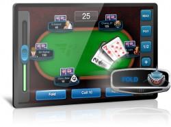 Full Tilts Play Money Poker App - Tablet