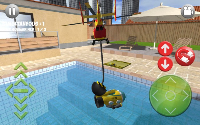 Helidroid 3B : 3D RC Copter. Play latest challenges in new helicopter gaming series