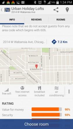 Hostelworld Hostels - Property on Map