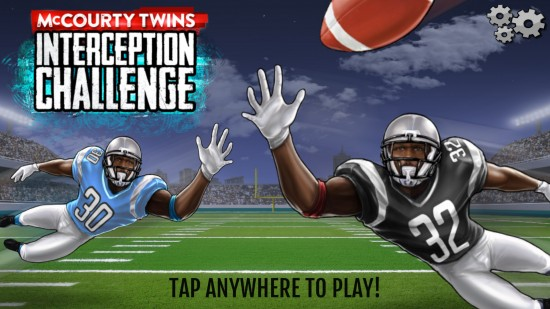 McCourty Twins: INT Challenge. A casual game to pick off the quarterback