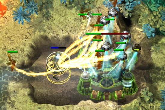 Sentinel 4: Dark Star. Play the epic tower defense game