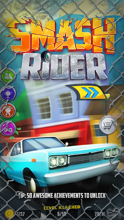 Smash Rider – an endless ruthless driving game