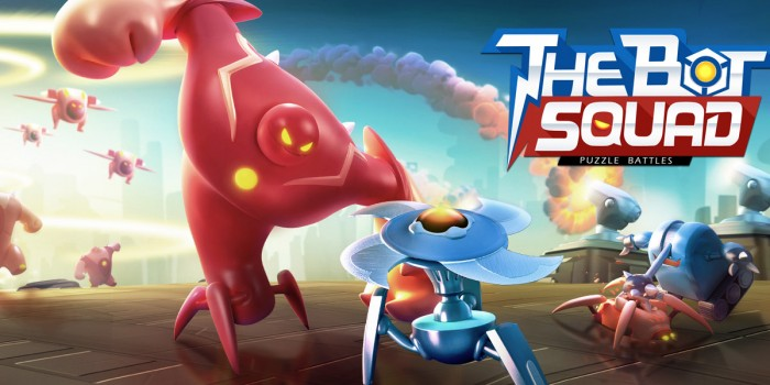 The Bot Squad: Puzzle Battles – strategy game mixing classic Puzzle and Tower Defense