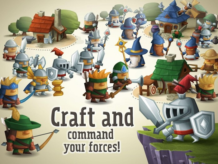 Tower Dwellers – craft & command your forces