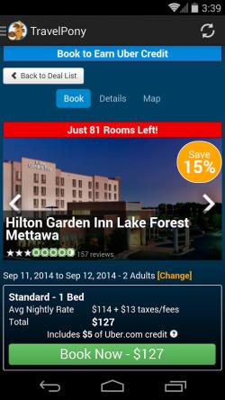 TravelPony Hotel Deals - Hotel Details