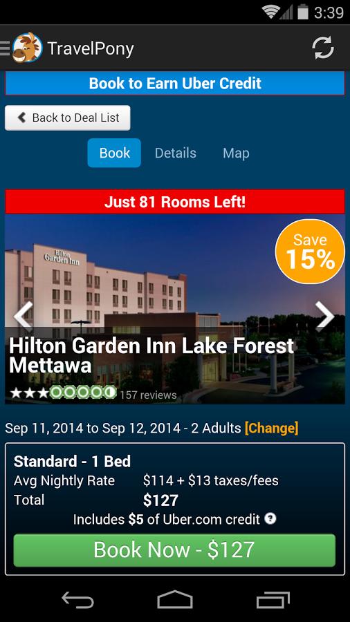TravelPony Hotel Deals
