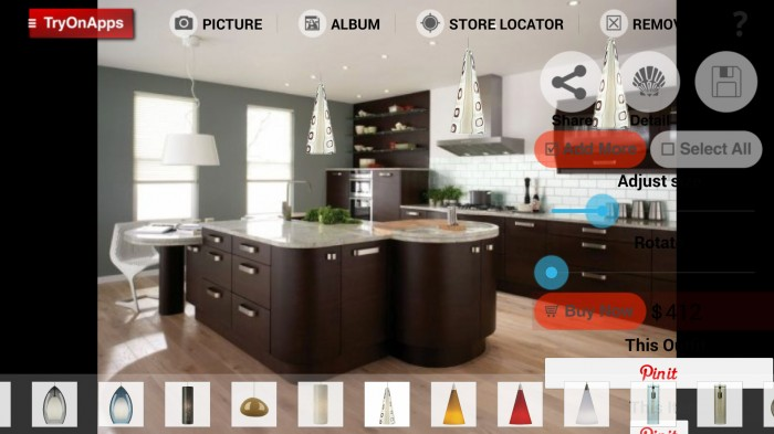 Virtual Decor Interior Design – a virtual interior decoration app