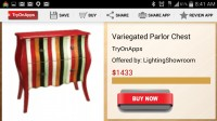 Virtual Decor Interior Design - Item Pricing