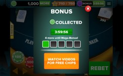Baccarat 888 - Collect Bonuses