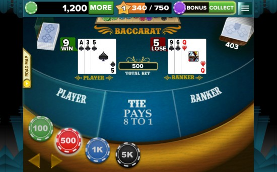 Baccarat 888 – easy to play casual card game
